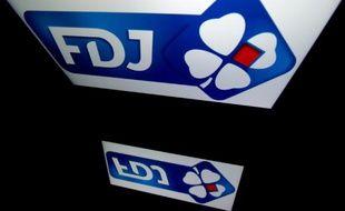 Le logo de la Française des Jeux (FDJ). Illustration.