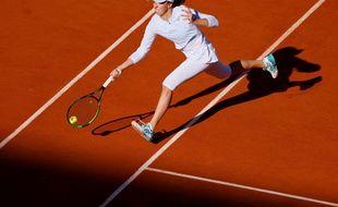 Iga Swiatek, en finale à Roland-Garros.