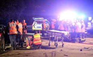 Un grave accident de la route s'est produit le 22 octobre 2018 sur la commune de Nouvoitou près de Rennes.