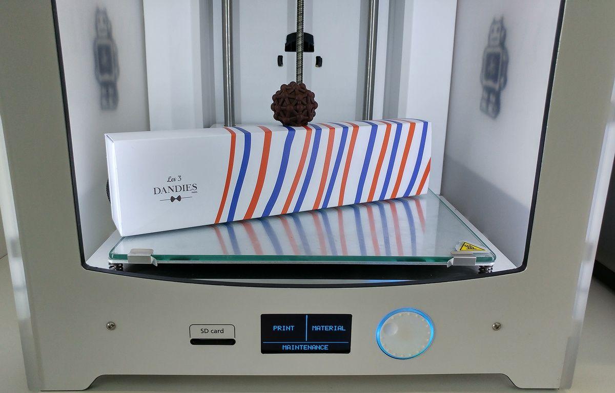Les 3 Dandies créent des chocolats avec une imprimante 3D.  – Les 3 Dandies