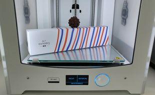 Les 3 Dandies créent des chocolats avec une imprimante 3D.