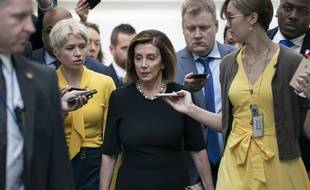 La démocrate Nancy Pelosi le 25 septembre 2019 à Washington.