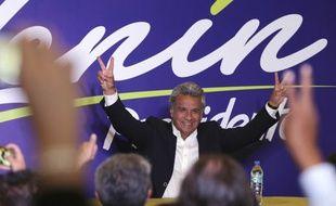Le socialiste Lenin Moreno, élu dimanche président d'Equateur.