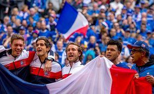 L'équipe de France s'est qualifiée dimanche pour la finale de la coupe Davis