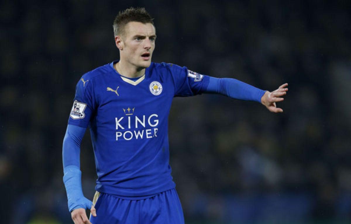 Jamie Vardy, le 14 décembre 2015 avec Leicester.  – SIPANY/SIPA