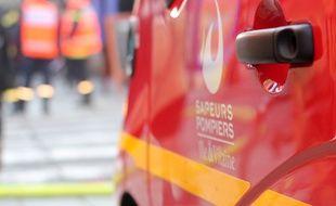 Illustration d'une intervention des pompiers.