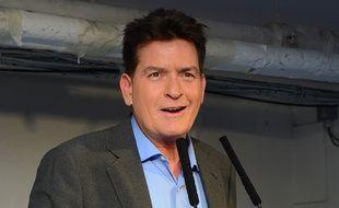 Charlie Sheen à Londres