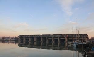 Le 7 décembre 2016, la base sous-marine à Bordeaux