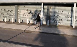 Des tags apparus ces derniers jours à Dijon.
