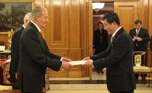 Le premier ambassadeur en Espagne de Corée du Nord, qui cherche à développer ses relations avec l'Union européenne, a pris officiellement ses fonctions mercredi.