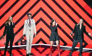 Jenifer, Zazie, Mika et Florent Pagny, Les coachs de la saison 4 de The Voice.