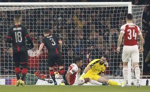 Ça commence mal pour les Rennais qui ont pris deux buts dans les vingt premières minutes face à Arsenal.
