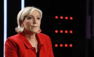 Marine Le Pen, présidente du parti Rassemblement National.