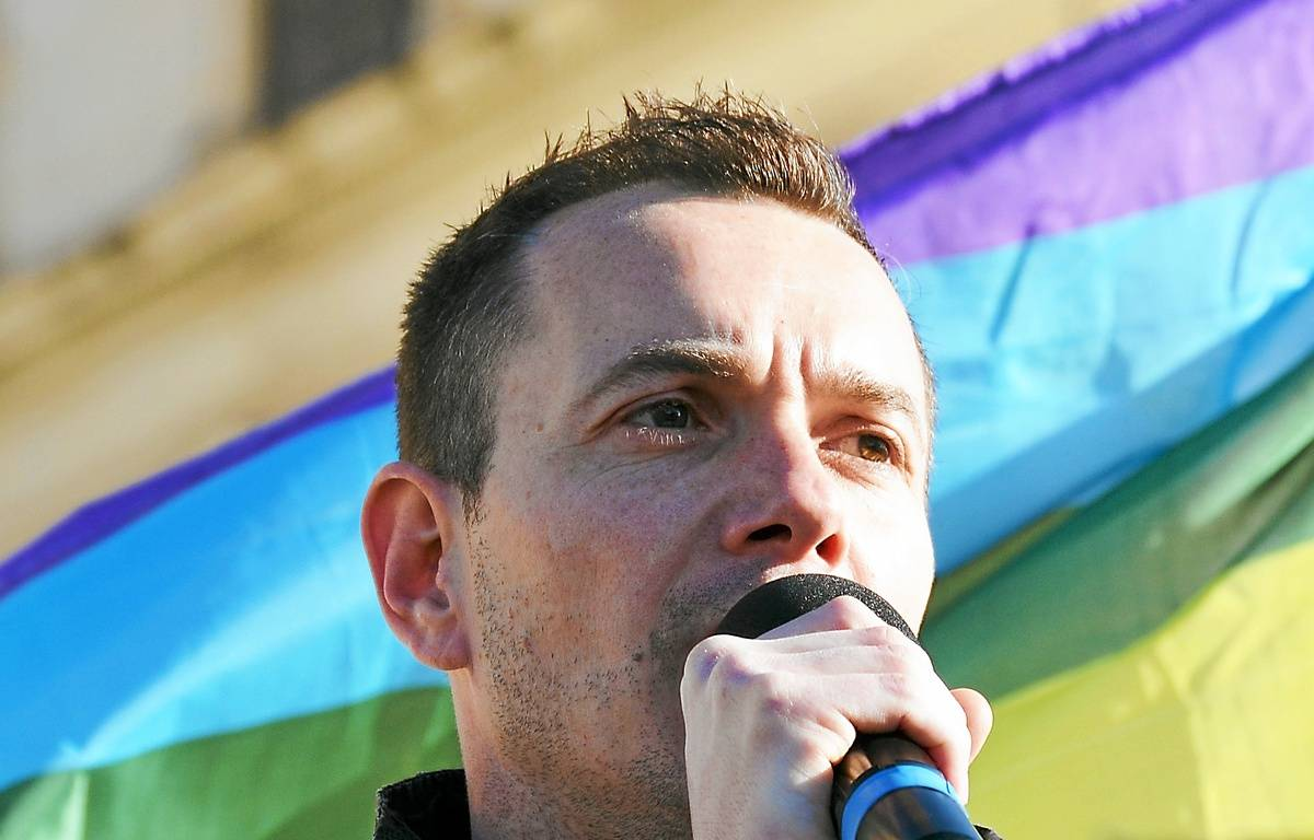Vincent Autin, premier marié gay du pays. – N. Bonzom / Maxele Presse / 20 Minutes