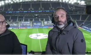Eric Di Meco nous a plus fait vibrer que l'OM aux commentaires du match contre Porto.
