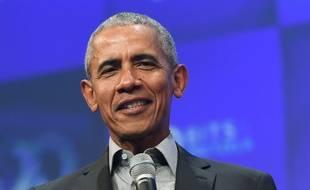 Barack Obama, en septembre 2019.