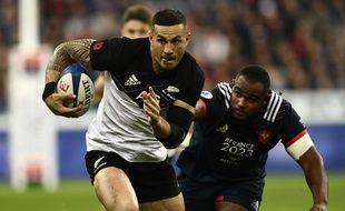 France-Nouvelle-Zélande au Stade de France le 11 novembre 2017.