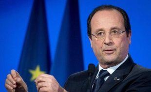 """Le président François Hollande a annoncé mardi qu'une """"grande conférence économique et sociale"""" se tiendrait au printemps pour conclure le pacte de responsabilité avec les entreprises."""
