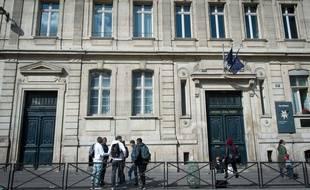 Le lycée Colbert a Paris.