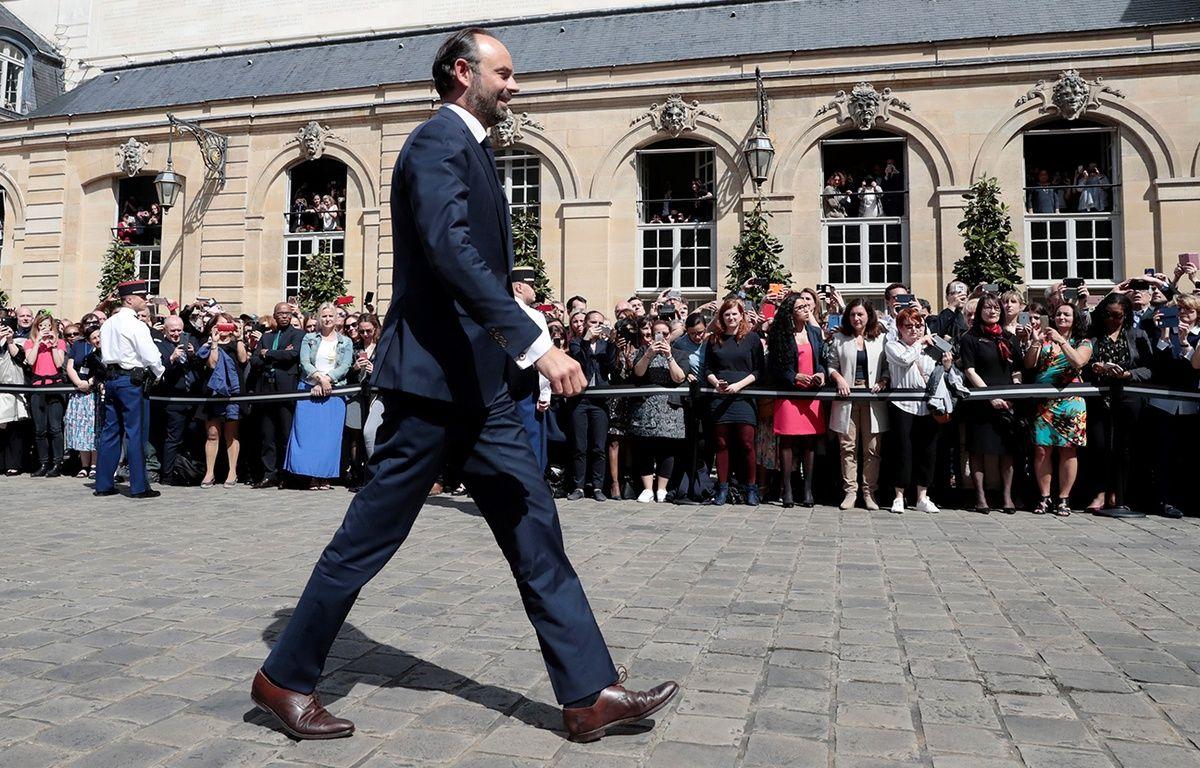 Edouard Philippe à Matignon, le 15 mai 2017. – JOEL SAGET/AFP