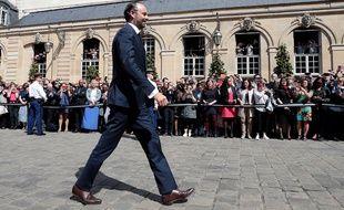 Edouard Philippe à Matignon, le 15 mai 2017.
