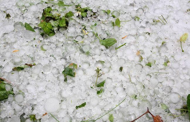 Ariège: Les images spectaculaires de l'orage de grêle qui a frappé Ax-les-Thermes