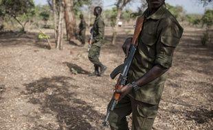 Des Rangers assurent la protection de la vie animale dans le parc du Pendjari au Bénin en 2018.