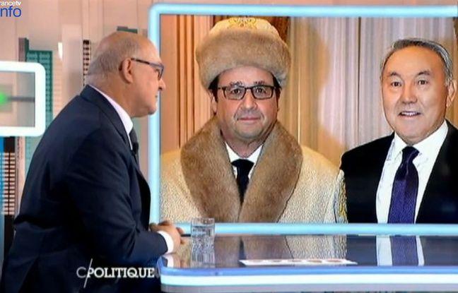 Michel Sapin juge sévèrement les commentaires sur la chapka de François Hollande.