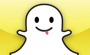 Le logo de l'application SnapChat.