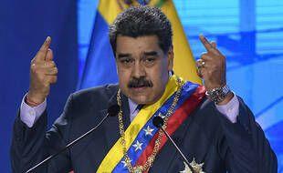Le président du Venezuela, Nicolas Maduro, à Caracas le 22 janvier 2021.