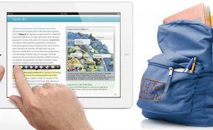 iBook Author, sur Mac, permet de créer des eBooks interactifs, notamment des manuels scolaires.