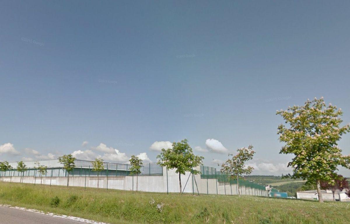 Le kilo de viande est passé par-dessus les murs de la prison de Saint-Mihiel. – Capture d'écran / Google Street View.