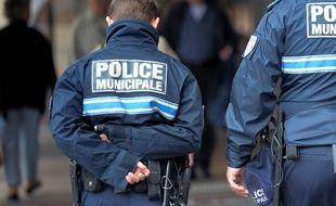 Photo d'Illustration de la police municipale.