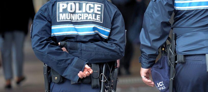 Illustration de la police municipale.