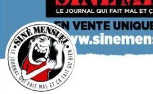 Le logo du journal satirique Siné Mensuel.