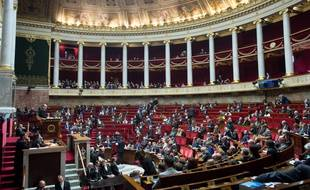 L'Assemblée nationale, le 18 décembre 2018 (image d'illustration).