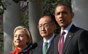 La Banque mondiale réunit lundi à Washington son conseil d'administration pour désigner le nouveau président de l'institution d'aide au développement, avec l'Américain Jim Yong Kim comme grand favori.