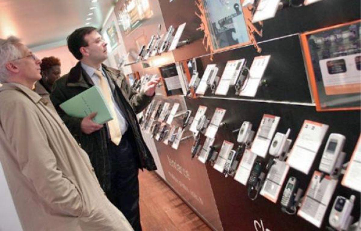 Les clients bénéficieront d'une meilleure information sur les différents forfaits. –  MEIGNEUX / SIPA