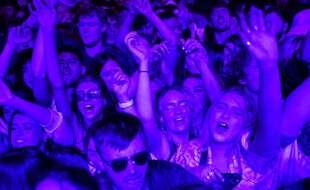 Un concert-test réunissant près de 5.000 personnes a eu lieu à Liverpool dimanche 2 mai 2021.