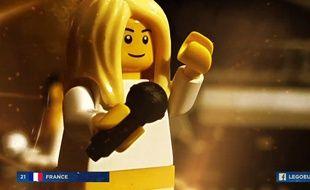 La prestation de Bilal Hassani à l'Eurovision 2019... version Lego.