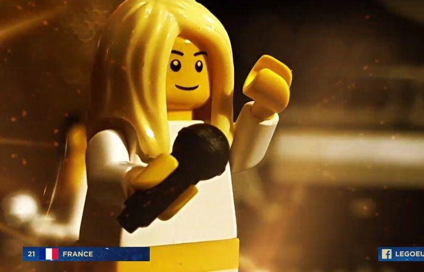 VIDEO. La finale de l'Eurovision 2019 reconstituée en Lego