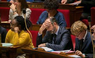 Edouard Philippe à l'Assemblée le 17 décembre 2019.