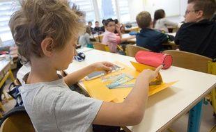 Illustration rentrée scolaire en primaire et maternelle.