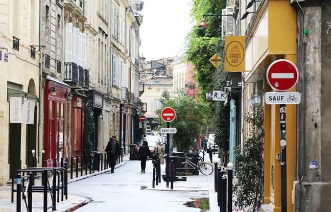 La rue Notre-Dame, dans le quartier des Chartrons à Bordeaux