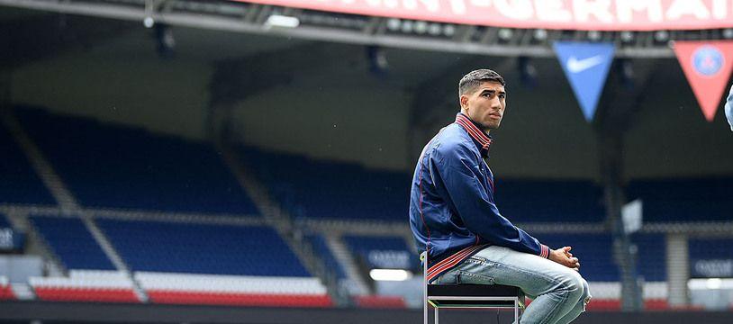 Achraf Hakimi est l'une des recrues phares du PSG cette année.