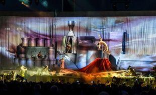 Le Cirque du Soleil, en mai 2015 à Milan