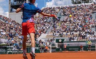 Yannick Maden au tournoi de tennis de Roland-Garros le 29 mai 2019 à Paris