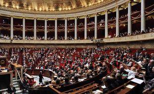 Les députés à l'Assemblée nationale, le 8 juin 2010.