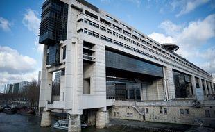 Le ministère de l'Economie, à Paris