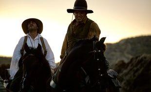 Joaquin Phoenix et John C. Reilly dans Les frères Sisters de Jacques Audiard